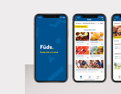 Füds - App Interface Design