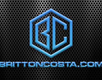 Britton Costa Logo Design
