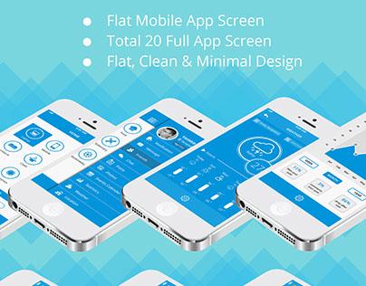 Smart Shop & Social iOS App UI