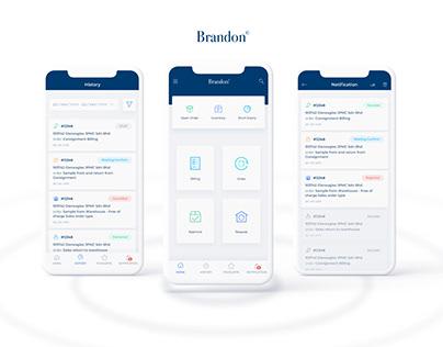 Brandon - Logistic Mobile App