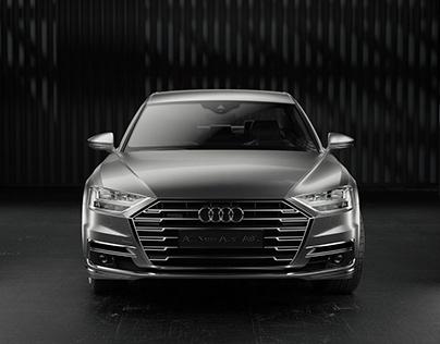 Audi A8L_Full CGI