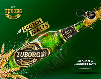 Tuborg - CG and Retouch