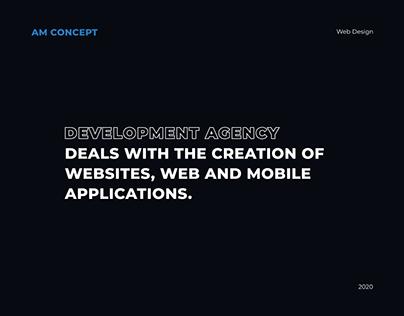 AM Concept website