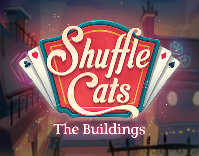 Shuffle Cats - The Buildings