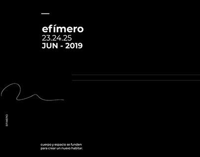 efímero / teaser dance festival