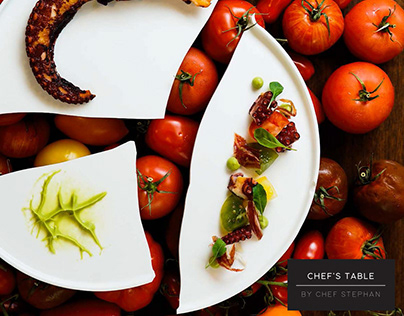 Chef's Table By Chef Stephan - Branding