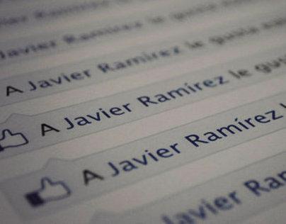 A Javier Ramírez le gusta esto (Personal Project)
