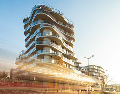 Courbes Residential Building by Christophe Rousselle