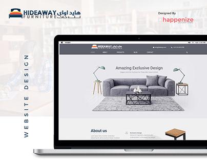 Hideway Furniture - Website Design