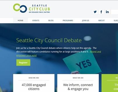 Seattle CityClub redesign