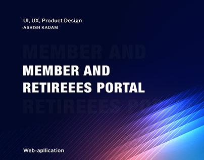 Member and Retirees Portal