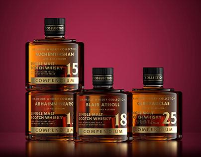 Dramside Whisky - Stacking Bottles