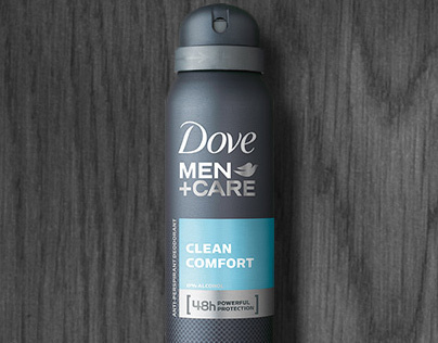 Dove Man Care Homepage Takeover