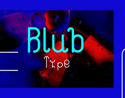 Blub Typeface