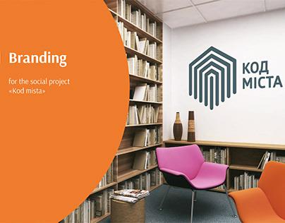 "Branding for the social project ""Kod mista"""