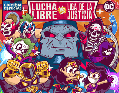Lucha Libre vs Liga de la Justicia