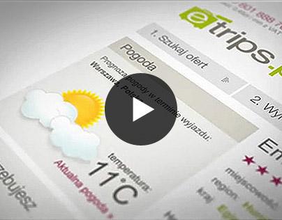 eTrips - animation, video, motion design