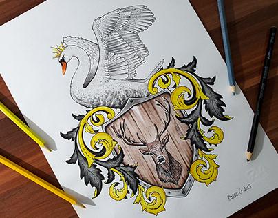 Coat of Arms design - Calder