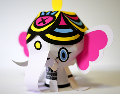 Love Through Design Branding: Paper Toys