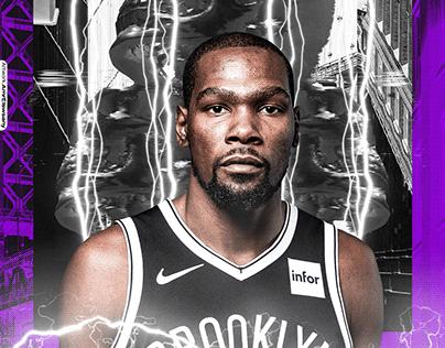 Kevin Durant x NIKE™ Artwork | Brooklyn Nets | NBA