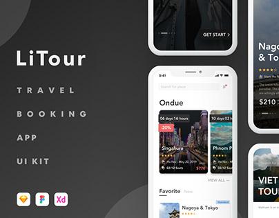 LiTour - Travel Booking App UI Kit