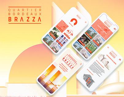 Application Quartier Bordeaux Brazza (projet d'école)