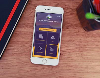El Paso Citizen Engagement - App, Website - Responsive