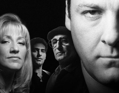 THE SOPRANOS promo ad poster design