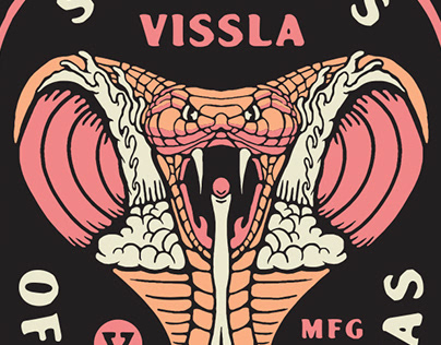 Vissla Fall/Holiday Tee Graphics