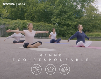 Decathlon Yoga | Collection éco-responsable (2018)