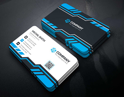Corporate Business Card Template : 10