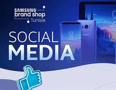 Samsung brand shop Social media