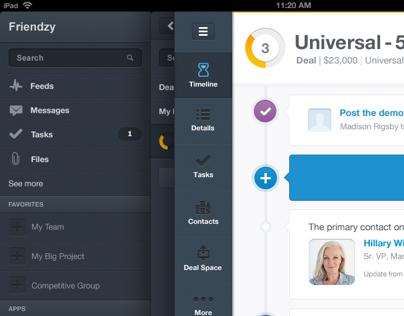 Salesforce Tablet App Concept