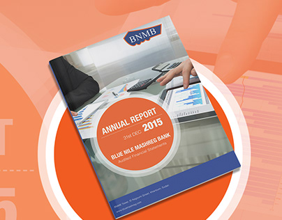 Annual Report For A Bank