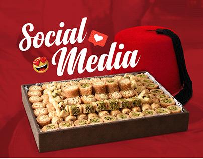 Social Media Designs - Baet Almokhtar Konafa