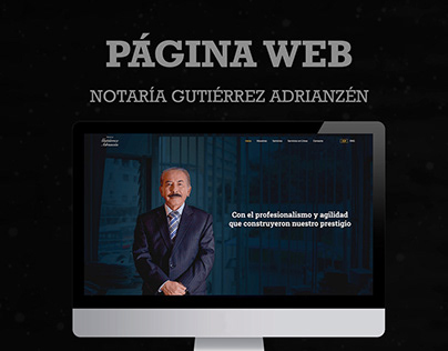 Notaría Gutiérrez Adrianzén - Página web