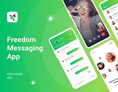 Freedom messaging app