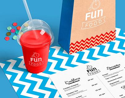 """Cafe """"Fun Food"""" brending"""