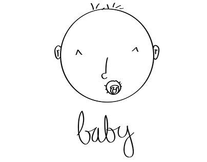 Láminas bebés