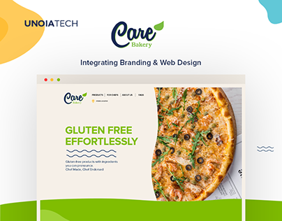 Care Bakery: Integrating Branding & Web Design