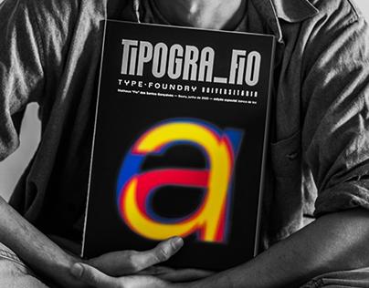 Tipogra Fio University type-foundry | TYPE BOOK