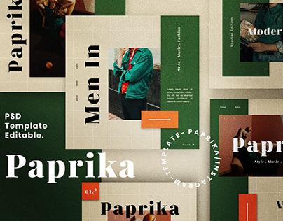 Paprika - Social Media Branding