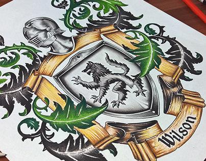 Coat of Arms design - Wilson