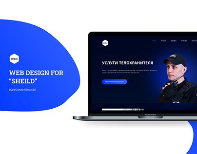 Bodyguard service- Website