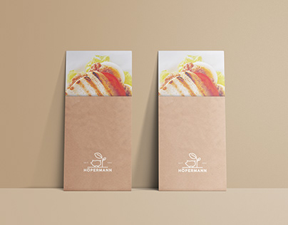 Food Catering Brochure for Hoepermann Butcher's