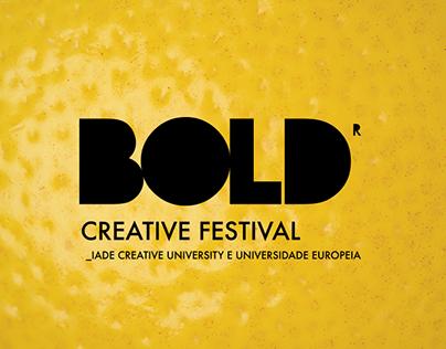 BOLD CREATIVE FESTIVAL 2016