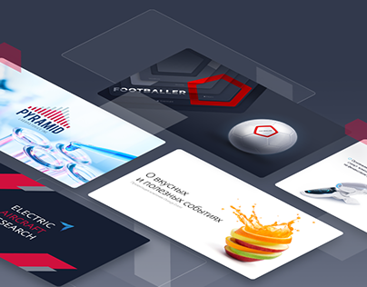 Presentations for different clients