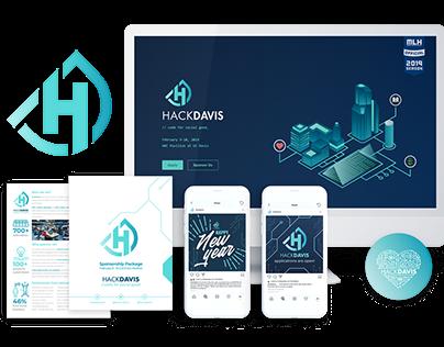 HackDavis 2019 Branding