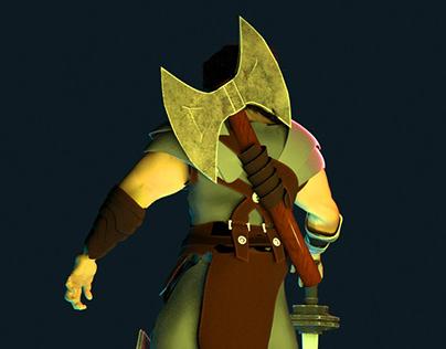#3DSanta Warrior