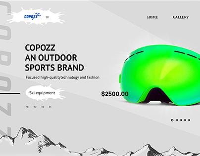 Online Shop Redesign Sports Brand [concept]